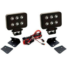 "PUTCO Luminix 4"" LED Light Block Pair w/Window Bracket Mounts **Ships Same Day**"