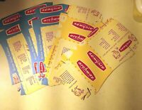 Vintage 1959 Archway Cookie Boxes LOT Unused Flat FIVE BOXES