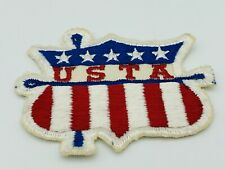 Vintage USTA United States Twirling Association Cut Edge Patch - Preowned
