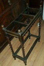 Antique Victorian umbrella stand mahogany