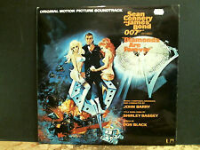 DIAMONDS ARE FOREVER  Soundtrack  LP   007  Bond   Lovely copy!