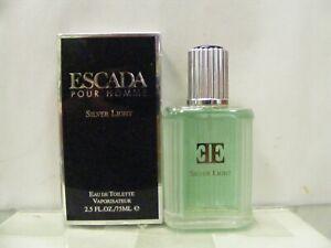 ESCADA Silver Light Pour Homme Eau Toilette 75 Spray