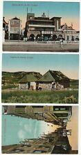 RARE 3 Postcards - Curacao - ca 1915 Caribbean Island Curaçao Dependencies