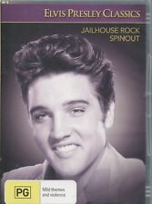 JAILHOUSE ROCK - & SPINOUT - ELVIS PRESLEY CLASSIC DOUBLE BILL - DVD