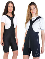 Women's Cycling Bib Shorts Padded Cycling Pants Bike Bib Shorts