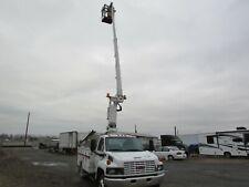 2006 Gmc C5500 Altec Onan Generator Bucket Boom Truck