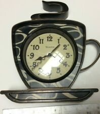 Collectible Westclox Coffee Cup clock,rarely used if ever,very nice, runs-K209