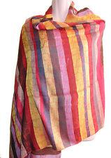 Silk blend Water pashmina Shawl/Scarf, Made in Nepal