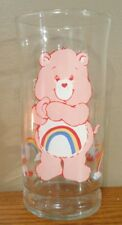 Vintage 1983 Care Bears Pizza Hut Collectors Glass Cheer Bear