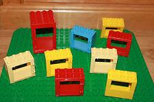 Lego Duplo Bauernhof - 8 x Fenster / Tür & Hausteil, Bauernhof Haus Teile, K12