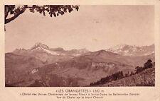 """NOTRE-DAME-DE-BELLECOMBE chalet union chrét """"LES GRANGETTES"""" vue du mont charvin"""