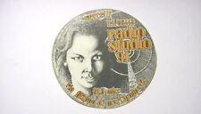 ADESIVO RADIO anni '80 /Old Sticker /Autocollant RADIO STUDIO 91 VERCELLI (cm10)