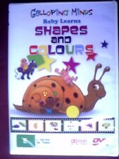 Galloping Minds Baby Learns Shapes and Colours Preschool Educational DVD New