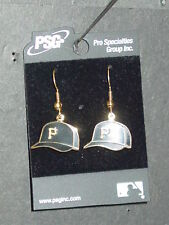 MLB Cap Earrings, Pittsburgh Pirates, NEW