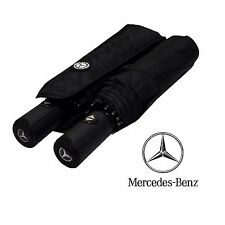 Premium Quality MERCEDES BENZ Umbrella Folding Automatic Genuine Brand Brolly