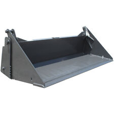 84 Inch Prowler Extreme Duty 4-n-1 Bucket Skid Steer Attachment - Smooth Edge