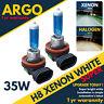 H8 Xenon White Halogen 35w Hid Headlight Fog Light Lamps Super Car 708 Bulbs 12v