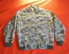 Mecca USA Camouflage Windbreaker Jacket Size M Vintage Skateboard Streetwear