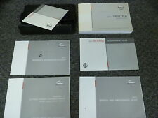 2001 Nissan Sentra Sedan Owner Manual User Guide SR S SL SE-R Spec V 2.0L 2.5L