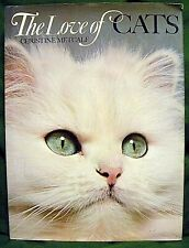 The Love Of Cats Book Christine Metcalf 1973 Hardcover 1St Ed 138 Color Photos