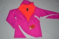 THE NORTH FACE GIRLS MOUNTAIN VIEW TRICLIMATE JACKET AZALEA PINK XL AUTHENTIC