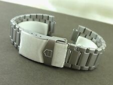 TAG HEUER Pilot Stainless Steel 20mm. Bracelet Reference 496/3 NOS
