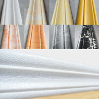 3D Marble Self-adhesive PVC Wall Sticker Removable Waist Line Decal Home Decor