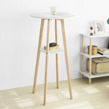 SoBuy®Table de Bar Table Haute de Bar Mange-Debout Cuisine Table,FWT58-WN,FR