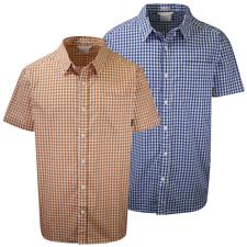 Columbia Men's Rapid Rivers II Solid Box Plaid S/S Shirt (Retail $40)