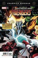 The Avengers #37 Comic Book 2020 - Marvel Chadwick Boseman Tribute