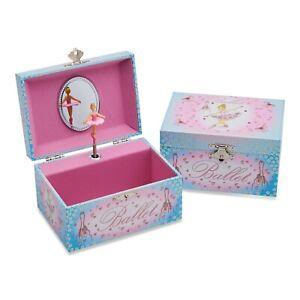 Lucy Locket - Ballerina Musical Jewellery Box for Children - Kids Musical Box