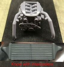 1/24 Aoshima Nissan R35 GT-R VR38DETT Resin Engine Kit With Racing Intercooler