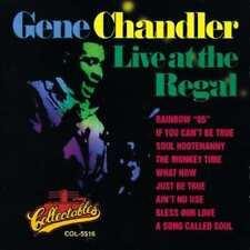 Gene Chandler: Live At The Regal NEW CD Live
