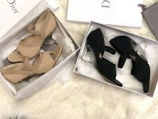 NIB Christian Dior Runway Clear Heel Wedge