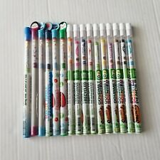 Smencils Gourmet Scented Pencil LOT 16 in Tubes NEW ~ Colored Recycled HB #2