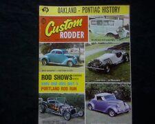 Custom Rodder Australia 1974 Issue 23, 1936 Ford Roadster & Coupe FX Holden