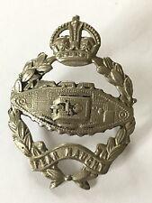 WW2  Original Tank Corps Cap Badge 2 Lugs