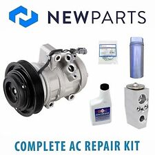 NEW For GMC Canyon Isuzu i-290 NEW A/C Repair Kit w/ Compressor & Clutch