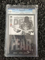 The Walking Dead 100 CGC 9.8 SDCC PX Variant 2012 Image Death of Glenn 1st Negan