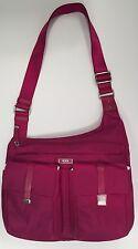 Tumi PHUKET CROSS BODY Purse Bag Fuchsia Purple Pink Berry 481986BYO NEW $225