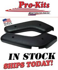 Fits 71 72 73 74 Roadrunner Charger Satellite Bench Seat Hinge Cover Black