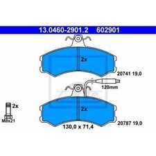 ATE Bremsbeläge 13.0460-2901.2 Bremsklötze Peugeot J5 Kasten 290L