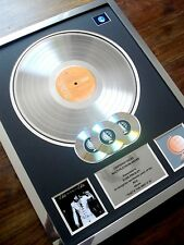 ELVIS PRESLEY THAT'S THE WAY IT IS LP MULTI PLATINUM DISC RECORD AWARD ALBUM