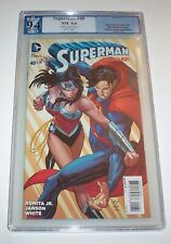 Superman (New 52) #40 - DC 2015 Modern Age John Romita Jr variant - PGX NM 9.4