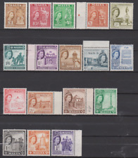 Malta 1956 Mint Mounted Set to £1 BARELY HINGED
