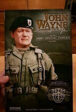"1/6 Scala John Wayne densa TIGERSTRIPE SERIE Sideshow 12 ""Figura LIMITED 2000"
