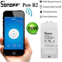 Sonoff Pow 15A WiFi Wireless Smart Swtich Module Power Consumption Measure Meter