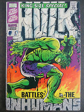 Incredible Hulk King Size Special #1 Steranko 1968 Annual Iconic Cover Inhumans