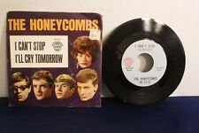 """Honeycombs, I Can't Stop / I'll Cry Tomorrow, Interphon IN-7713, 1964, 7"""" 45 RPM"""