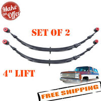 """Pro Comp 13311 Rear 4"""" Lifted Leaf Springs for 1973-1991 Chevy/GMC - Set of 2"""